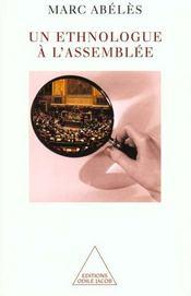 Un Ethnologue A L'Assemblee - Intérieur - Format classique