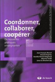 Coordonner, collaborer, coopérer - Intérieur - Format classique