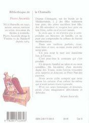 Inutile De Tuer Son Pere, Le Monde S'En Charge ; Au Vrai Chichi Marseillais - 4ème de couverture - Format classique
