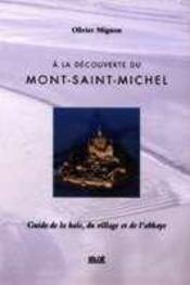À la découverte du mont saint-michel - Intérieur - Format classique