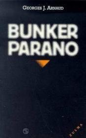 Bunker Parano - Couverture - Format classique
