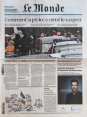 Monde (Le) N°20892 du 22/03/2012 - Couverture - Format classique