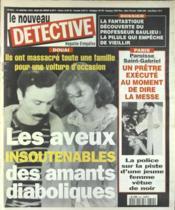 Nouveau Detective (Le) N°644 du 19/01/1995 - Couverture - Format classique