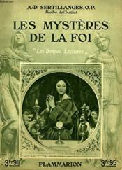 Les Mysteres De La Foi. Collection : Les Bonnes Lectures. - Couverture - Format classique
