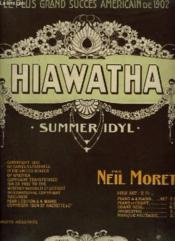 Hiawatha - A Summer Idyll Pour Piano. - Couverture - Format classique