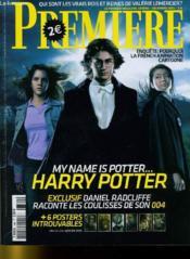 Premiere N° 346 - My Name Is Potter... Harry Potter - Couverture - Format classique
