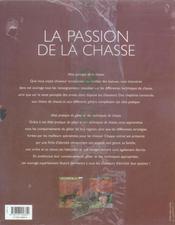 Coffret la passion de la chasse - 4ème de couverture - Format classique