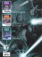 Avant l'Incal T.3 ; Croot - 4ème de couverture - Format classique