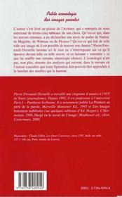 Petite Iconologie Des Images Peintes - 4ème de couverture - Format classique