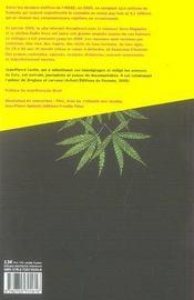 Le cannabis et moi ; de 15 ans à 65 ans, 200 fumeurs racontent - 4ème de couverture - Format classique