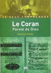 Le Coran, parole de dieu - Intérieur - Format classique