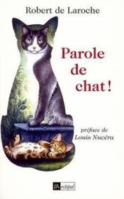 Parole De Chat ! - Couverture - Format classique