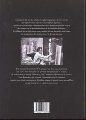 Alberto Giacometti - 4ème de couverture - Format classique