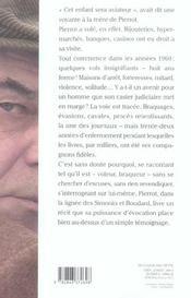 La Vie Sur Place - 4ème de couverture - Format classique
