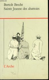Sainte Jeanne des abattoirs - Couverture - Format classique