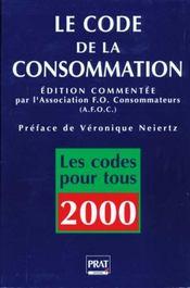 Code De La Consommation 2000 - Intérieur - Format classique