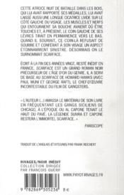 Scarface - 4ème de couverture - Format classique