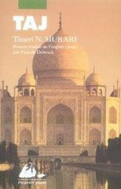 Taj - Couverture - Format classique