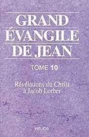 Grand Evangile De Jean - T. 10 - Couverture - Format classique