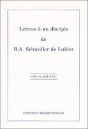 Lettres A Un Disciple - Couverture - Format classique