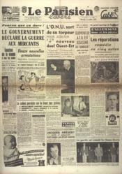 Parisien Libere (Le) N°1269 du 13/10/1948 - Couverture - Format classique