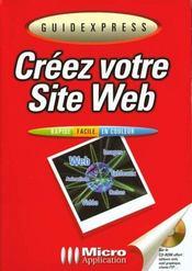 Guidexpress creez votre site web - Intérieur - Format classique