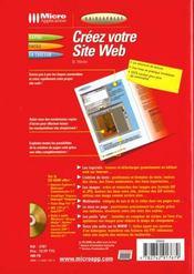 Guidexpress creez votre site web - 4ème de couverture - Format classique