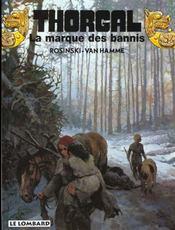 Thorgal T.20 ; La Marque Des Bannis - Intérieur - Format classique
