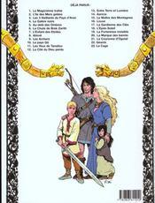 Thorgal T.20 ; La Marque Des Bannis - 4ème de couverture - Format classique