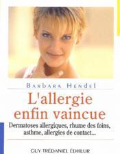 Comment Vaincre Vos Allergies - Couverture - Format classique
