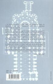 Franc-Maconnerie, Legende Des Fondations - 4ème de couverture - Format classique