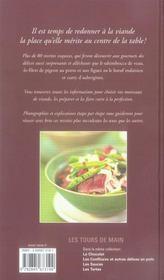 Les viandes - 4ème de couverture - Format classique
