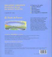 Stade De France (Le) - 4ème de couverture - Format classique