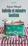 Individu et mémoire familiale - Couverture - Format classique