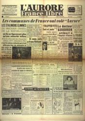 Aurore France Libre (L') N°1274 du 18/10/1948 - Couverture - Format classique