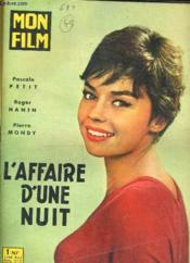 Mon Film N° 688 - L'Affair D'Une Nuit - Couverture - Format classique