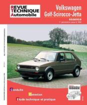 Rta 731.1 Golf Scirocco Et Gti 74-84 - Couverture - Format classique