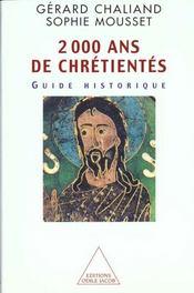 2000 Ans De Chretientes - Intérieur - Format classique