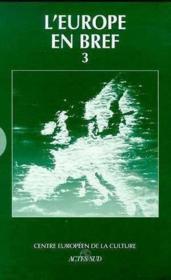 L'Europe En Bref ; Coffret Vol.3 - Couverture - Format classique