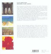 L'Art Americain - 4ème de couverture - Format classique