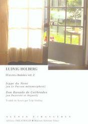 Jeppe du mont ; don ranudo de colibrados - Intérieur - Format classique