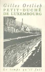 Petit Duche Du Luxembourg - Couverture - Format classique