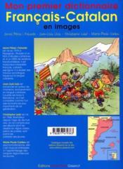 Mon Premier Dictionnaire Francais-Catalan En Images - 4ème de couverture - Format classique