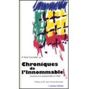 Chroniques de l'innommable - Couverture - Format classique
