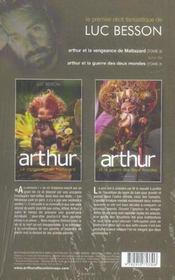 Arthur ; coffret t.3 et t.4 - 4ème de couverture - Format classique