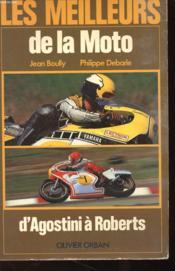 Les Meilleurs De La Moto - D'Agostini A Boberts - Couverture - Format classique
