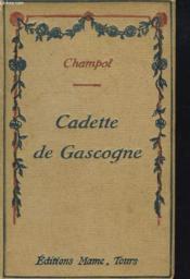 Cadette De Gascogne - Couverture - Format classique
