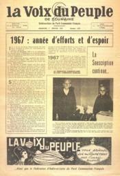 Voix Du Peuple De Touraine (La) N°1327 du 01/01/1967 - Couverture - Format classique