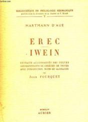 Hartmann D'Aue Erec Iwein - Couverture - Format classique