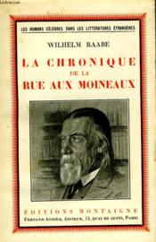 La Cronique De La Rue Aux Moineaux - Couverture - Format classique